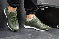 Мужские кожаные кроссовки Adidas Porsche Design P 5000,зеленые