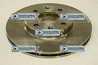 Диск переднего тормоза Авео 13  8кл/16кл HI-Q 1 шт (96574633)  (SD3001)