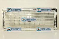 Решетка радиатора 2107 Автодеталь  хромированная без эмблемы (пакет)  (2107-8401014)