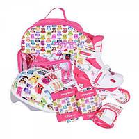 Раздвижные роликовые коньки для детей комплект Tempish Owl Baby skate (размеры 26-29, 30-33, 34-37)