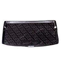Пластиковый коврик в багажник для Volkswagen Polo V (хэтчбек) 2009-
