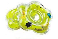 Круг для купания младенцев ZOO с ручками и музыкой Kinderenok