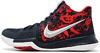 """Баскетбольные кроссовки Nike Kyrie 3 """"Samurai"""" (Найк) черные"""