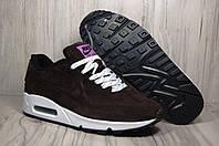 Nike Air Max 90 замшевые мужские кроссовки
