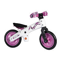 Детский велосипед (беговел) Bellelli B-Bip розовый с белой рамой SKD-90-81