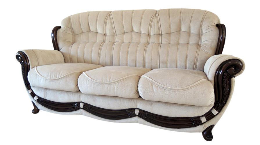 Диван Джозеф, не раскладной диван, мягкий диван, мебель в ткани