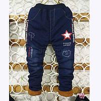 Теплые джинсы на мальчика (мех + синтепон)ХХЛ Одесса