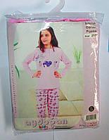 Пижама для девочек. Размер: 8- (128), 9-(134), 11 лет (146), 12 лет (152).
