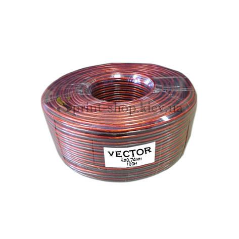 Акустический кабельVECTOR 2*0,74 мм2, фото 2