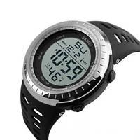 Часы спортивные Skmei 1167 (5 bar) silver, фото 1