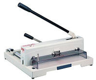 KW-triO 13943, гильотина для бумаги ручная, длина реза 370 мм, толщина стопы 15 мм, зажим ручной.