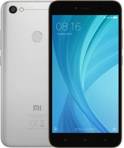 "Смартфон Xiaomi Redmi Note 5A 4/64GB Gray, 8 ядер, 16/13Мп, 5.5"" IPS, 2 sim, 4G, 3080мАh, Android 7.0"