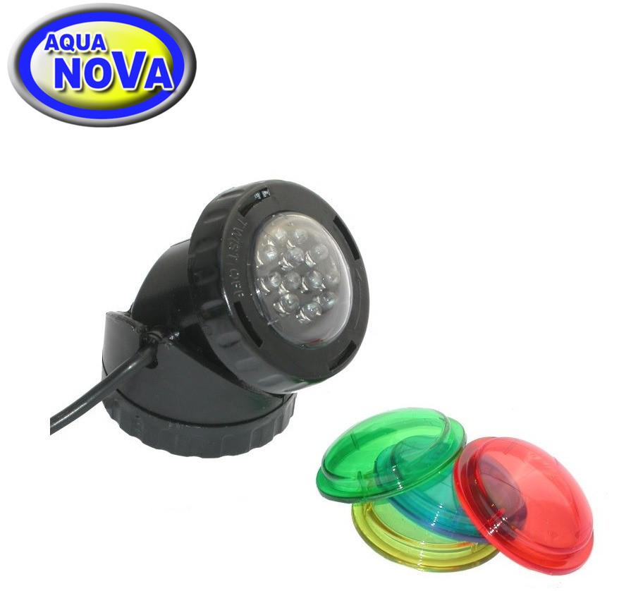 Светильник для пруда AquaNova NPL1-LED в (к-те датчик день/ночь)