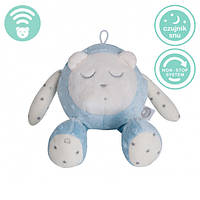 Myhummy - успокаивающая музыкальная мягкая игрушка с белым шумом. Кругляшок голубой
