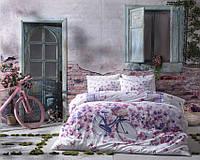 TAC Vincent fush сатин семейный комплект постельного белья