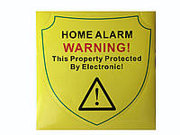 """Самоклеящаяся наклейка """"Home alarm"""""""