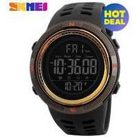 Часы тактические Skmei 1251 (5 bar) black @ gold