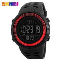 Часы тактические Skmei 1251 (5 bar) black @ red, фото 1