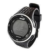 Часы электронные Skmei 1219 (5 bar) black @ silver, фото 1