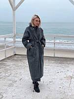 Женское пальто Шерсть длинное