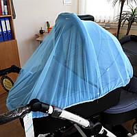 Сетка москитная для коляски (голубой) Bebetto