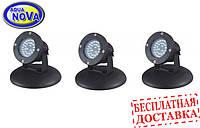 Светильник для пруда AquaNova NPL2 - LED3 в (к-те датчик день/ночь)