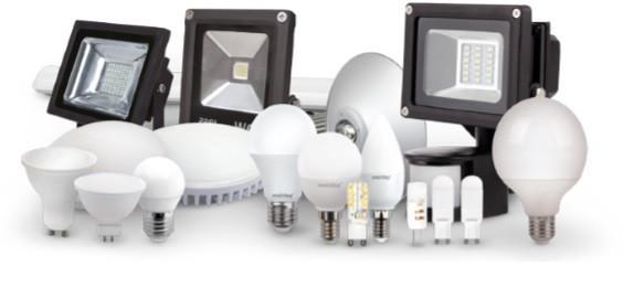 Лампы, прожекторы, LED