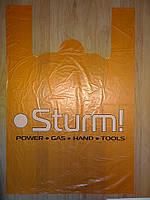 Полиэтиленовые пакеты (ПНД) майка Sturm