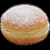 Пончик з персиковою начинкою