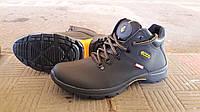 Зимние мужские кожаные ботинки на меху Ecco. Харьков