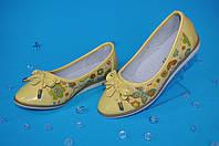 Нежные туфли для девочек (размер 26-31)