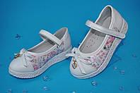 Белые туфли для девочек (размер 27-31)