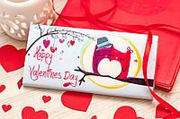 Шоколадка Влюбленные совушки