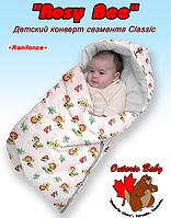 """Спальный мешок для новорожденного """"Розовая пчелка"""" Ontario Baby CLASSIC"""