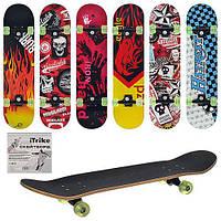 Скейт спортивный полупрофессиональный Profi 6 видов MS 0355