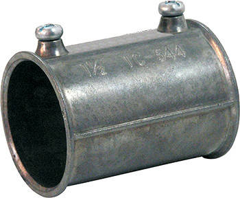 """З'єднувач для труб металевий 1"""" на гвинтах, Tarel, фото 2"""