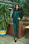 Женский замшевый комбинезон брюки (3 цвета), фото 3