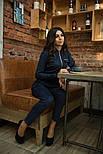 Женский замшевый комбинезон брюки (3 цвета), фото 8