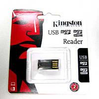 Кардридер Kingston USB для  microSD