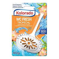 Гигиенический блок для унитаза WC Kolorado 40 г (тропикал)