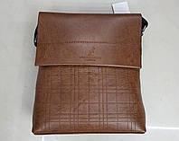 Сумка-планшет 206-12L светло-коричневая
