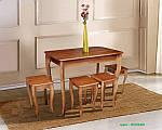 Стол +4 табурета Смарт, фото 2