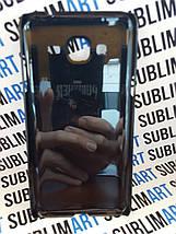 Чехол для 2D сублимации пластиковый на Samsung Galaxy J3 черный, фото 3
