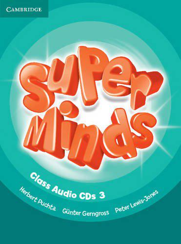 Super Minds 3 Class Audio CDs