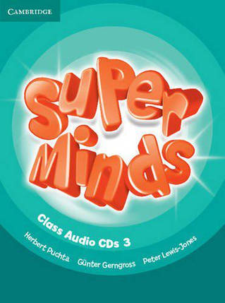 Super Minds 3 Class Audio CDs, фото 2