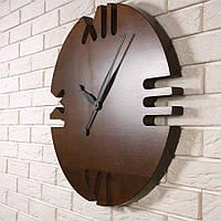 """Настенные часы из дерева """"Roman numerals Ø60"""" в скандинавском стиле"""