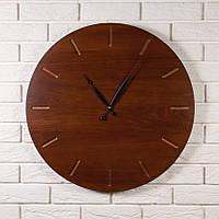"""Круглые настенные часы """"Classic Ø60"""" из массива дерева ясень в классическом стиле"""