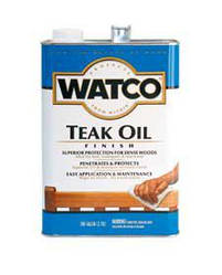 Тиковое масло Watco Teak Oil, 3.78л