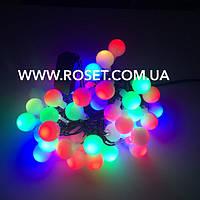 Гирлянда шары на 40 ламп  - multi (5 метров)