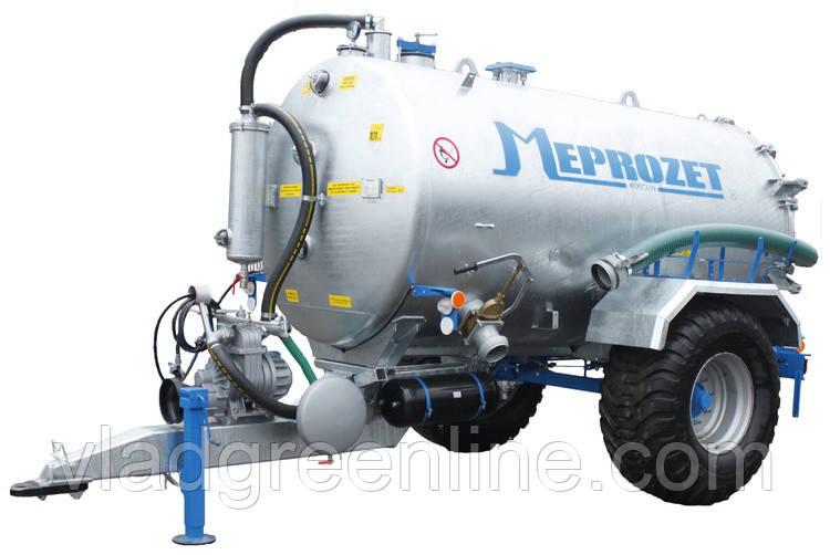 Ассенизационная машина Meprozet PN-60/3 (6690 л, оцинкованная)